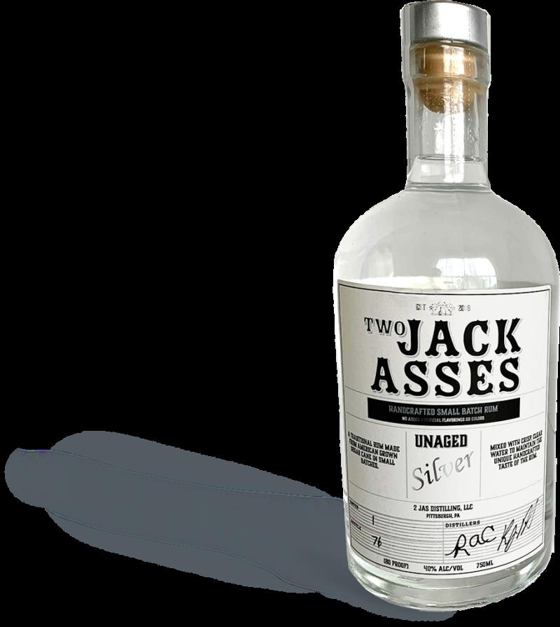 2 JAS Bottle Rum