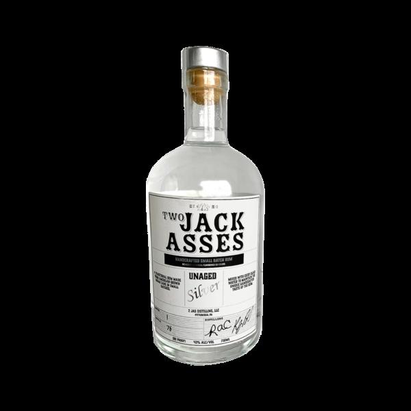2 JAS Silver Unaged Rum