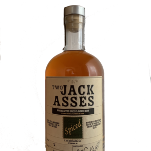 Picture of Two Jackasses Spice Flavored Rum Bottle