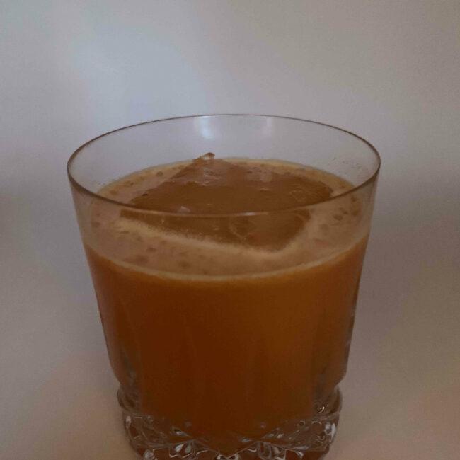 Spiced Pumpkin Cocktail Glass